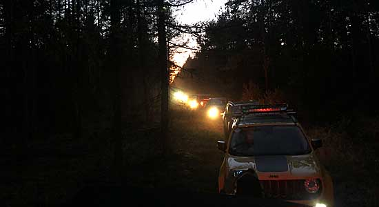 Jeep Tour Jeep Night Heide