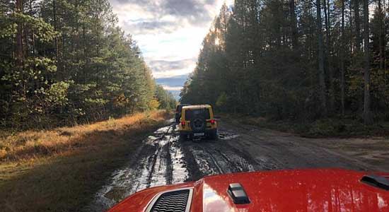 Jeep Tour Jeep Experience goes Lüneburger Heide