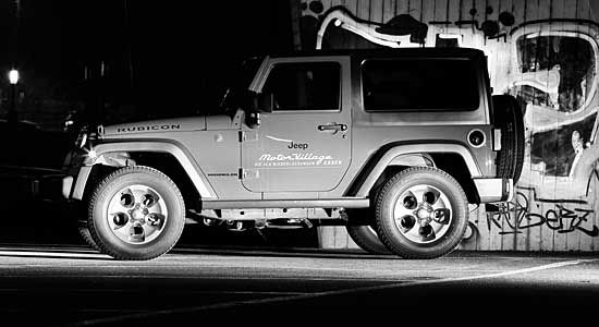 Jeep Tour Jeep Night - Fotosession