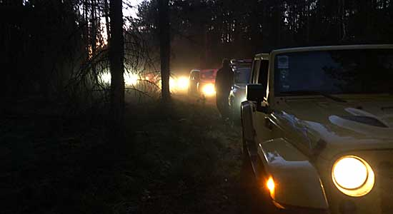 Jeep Tour Jeep Night Heide • Brunftzeit